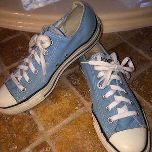 Converse Chuck Taylor baby blue shoes mens 8 Wm 10